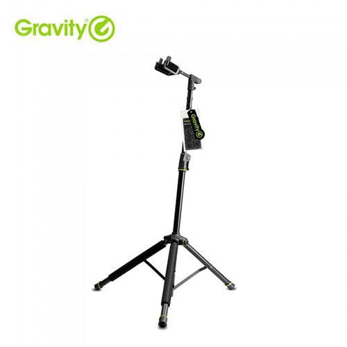 GRAVITY FOLDABLE GUITAR STAND WITH NECK HUG